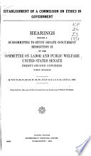 Hearings  Reports and Prints of the Senate Committee on Labor and Public Welfare Book