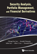 Security Analysis, Portfolio Management, and Financial Derivatives