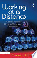 Working at a Distance Book