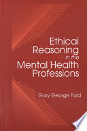 Ethical Reasoning In The Mental Health Professions Book PDF