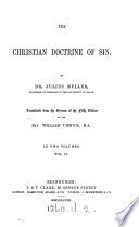 The Christian doctrine of sin  tr  by W  Urwick Book PDF