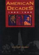 American Decades  1980 1989