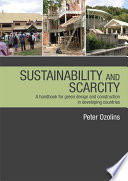 Sustainability   Scarcity
