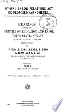 National Labor Relations Act and Proposed Amendments.pdf