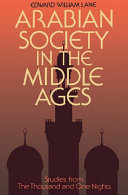 Arabian Society Middle Ages Book