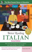 Better Reading Italian, 2nd Edition [Pdf/ePub] eBook