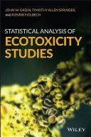 Pdf Statistical Analysis of Ecotoxicity Studies