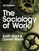 Cover of The Sociology of Work