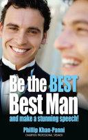 Be the Best  Best Man   Make a Stunning Speech