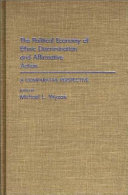 The Political Economy of Ethnic Discrimination and Affirmative Action