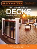 Black & Decker The Complete Guide to Decks 6th edition Pdf/ePub eBook