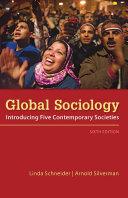 Global Sociology: Introducing Five Contemporary Societies