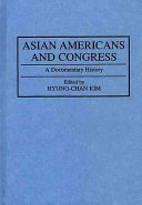 Asian Americans And Congress