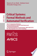 Critical Systems  Formal Methods and Automated Verification Book