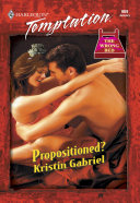 Propositioned   Mills   Boon Temptation