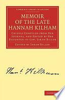 Memoir Of The Late Hannah Kilham Book PDF