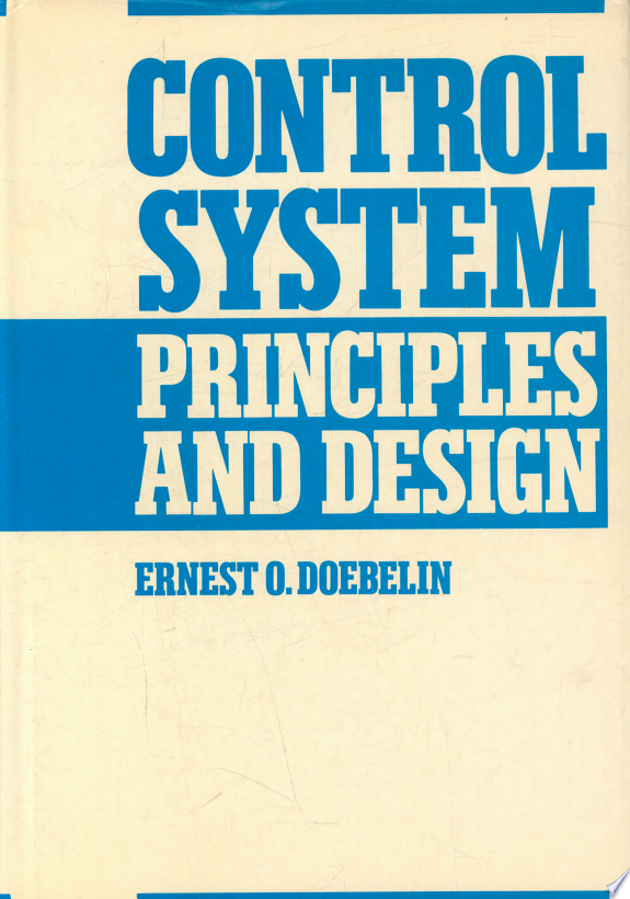 Control System Principles and Design
