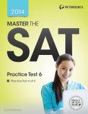 Master the SAT  Practice Test 6