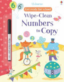 Wipe Clean Numbers to Copy