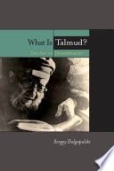 What is Talmud?  : The Art of Disagreement