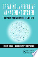 Creating an Effective Management System Book