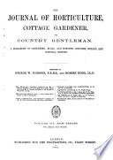 Journal of Horticulture  Cottage Gardener and Country Gentlemen