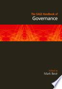 The Sage Handbook Of Governance