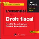 L'essentiel du droit fiscal 2017