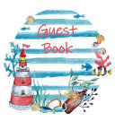 Guest Book  Visitors Book  Guests Comments  Vacation Home Guest Book  Beach House Guest Book  Comments Book  Visitor Book  Nautical Guest Book  Holiday Home  Bed   Breakfast  Retreat Centres  Family Holiday Guest Book  Hardback