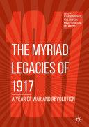 The Myriad Legacies of 1917 Pdf/ePub eBook