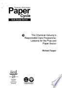 The Chemical Industry s Responsible Care Programme Book