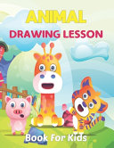 Animal Drawing Lesson Book For Kids