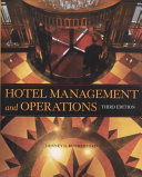 Hotel Management and Operations  Website Book