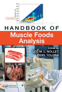 Handbook Of Muscle Foods Analysis Book PDF