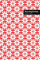 New Beginnings Lifestyle Journal, Blank Write-in Notebook, Dotted Lines, Wide Ruled, Size (A5) 6 X 9 In (Pink)