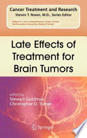 Late Effects of Treatment for Brain Tumors Book