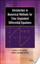 Introduction to Numerical Methods for Time Dependent Differential Equations Book