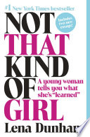 Not That Kind of Girl Book PDF