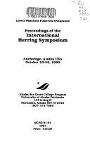 Proceedings Of The International Herring Symposium