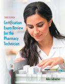 Certification Exam Review for the Pharmacy Technician [Pdf/ePub] eBook