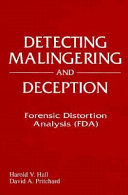 Detecting Malingering and Deception Book