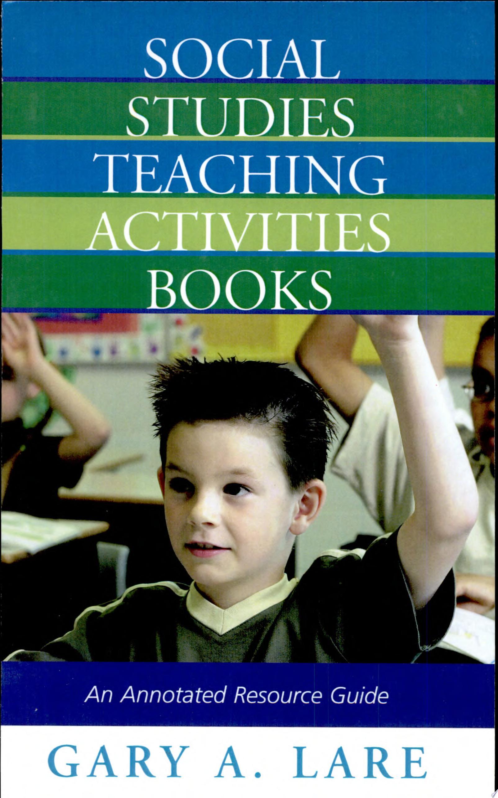 Social Studies Teaching Activities Books