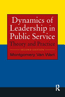 Dynamics of Leadership in Public Service Pdf/ePub eBook