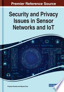 Security and Privacy Issues in Sensor Networks and IoT Book