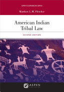 American Indian Tribal Law