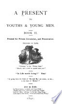 A Present to Youths   Young Men Book PDF