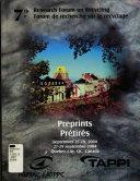 7th Research Forum on Recycling, September 27-29, 2004, Québec City, QC, Canada : Preprints