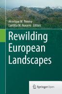 Rewilding European Landscapes
