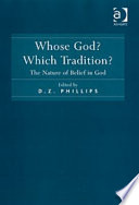Whose God Which Tradition