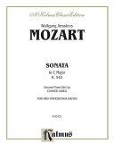 Sonata in C Major  K  545